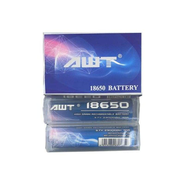 AWT 18650 3.7V 2900mAh 40A Battery - Vaping Products