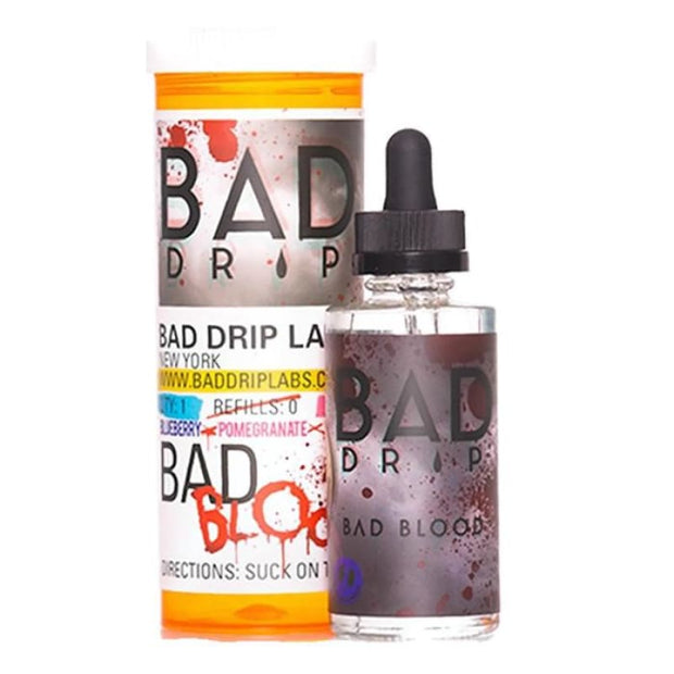 Bad Drip 0mg 50ml Shortfill (80VG/20PG) - Bad Blood - Vaping