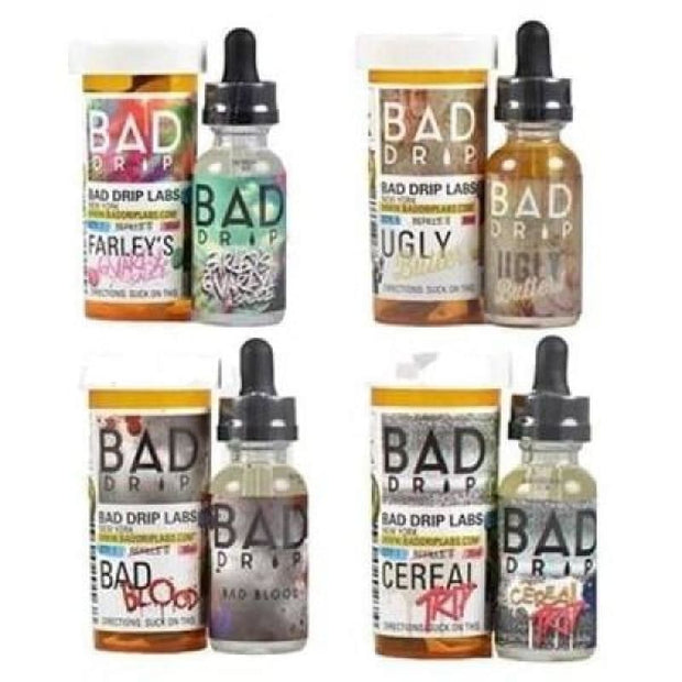 Bad Drip 0mg 50ml Shortfill (80VG/20PG) - Vaping Products