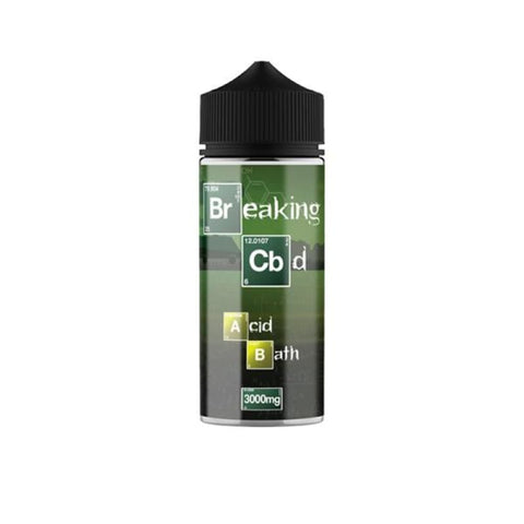 Breaking CBD 3000mg CBD E-Liquid 120ml (50VG/50PG) - CBD