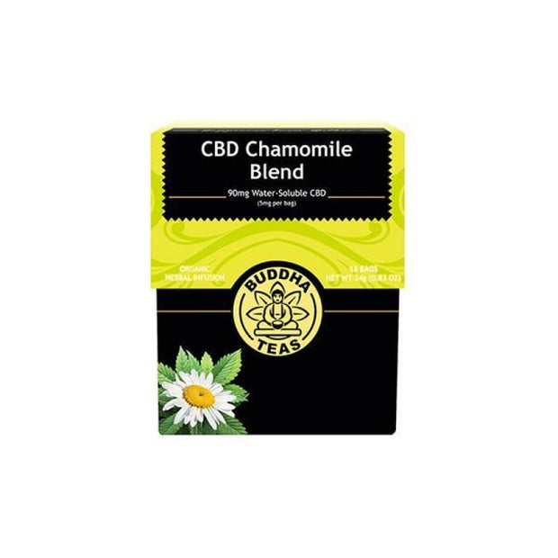 Buddha Teas CBD Chamomile Blend Tea Bags 5mg - CBD Products