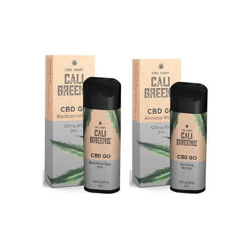 Cali Greens CBD GO 120mg Disposable Vape Pen - CBD Products