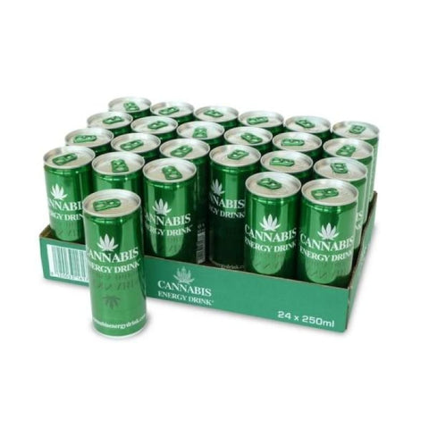 Cannabis Energy Drink 250ml with Hemp Seed Extract - CBD