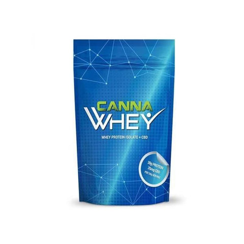 CannaWHEY CBD Whey Protein Drink 500g - Blueberry Muffin -