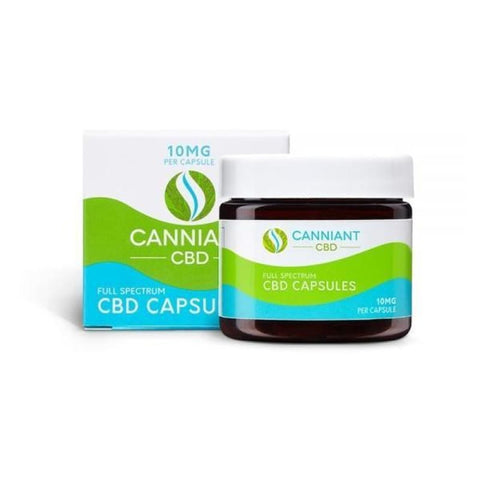 Canniant Full Spectrum 300mg CBD Capsules - 30 Capsules -