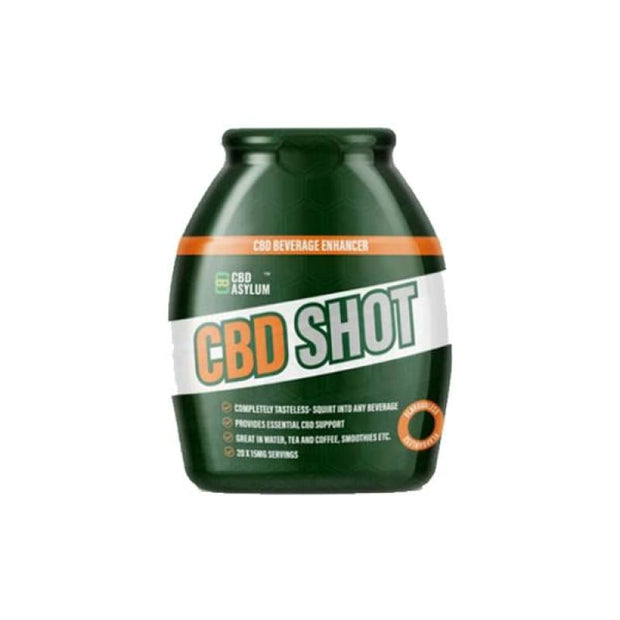 CBD Asylum Shot Enhancer 300mg CBD 60ml - CBD Products