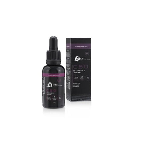 CBD Performance 1000mg CBD Isodrops supplement 30ml -