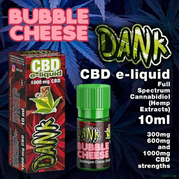 Dank CBD - Bubble Cheese 30ml