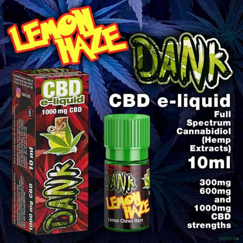 Dank CBD - Lemon Haze 10ml