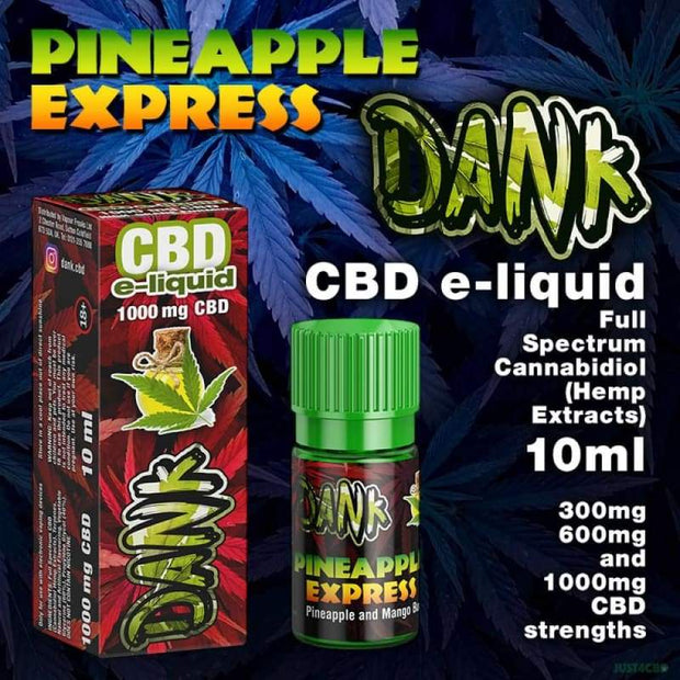 Dank CBD - Pineapple Express 10ml