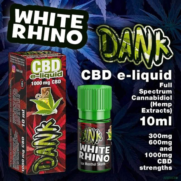 Dank CBD - White Rhino 10ml