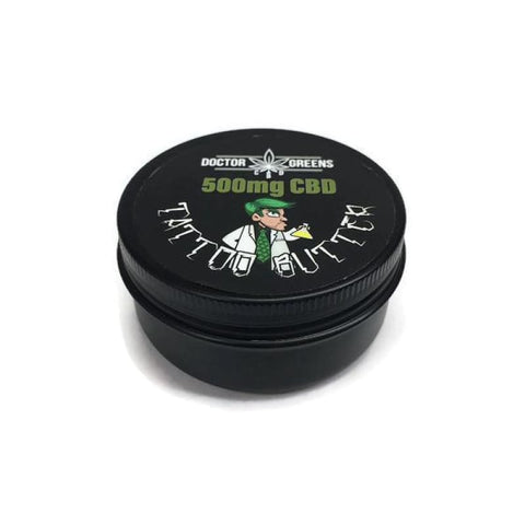 Doctor Green's Tattoo Butter 500mg CBD 50ml - CBD Products