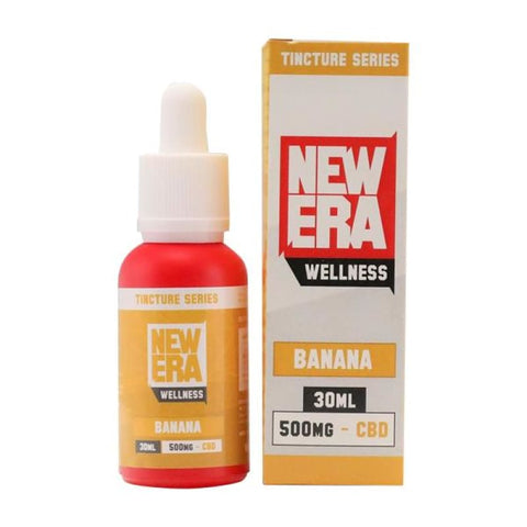 New Era Wellness 500mg CBD Tincture Series 30ml - Banana -