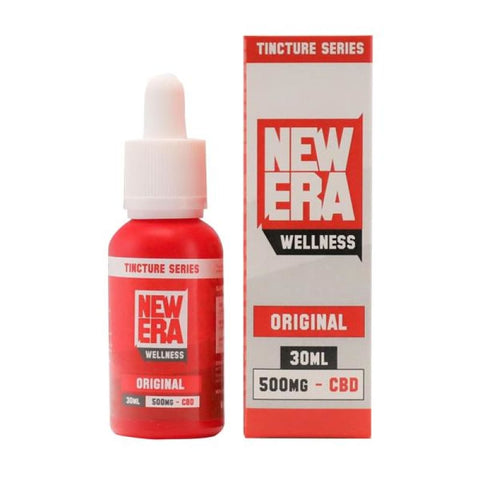 New Era Wellness 500mg CBD Tincture Series 30ml - CBD