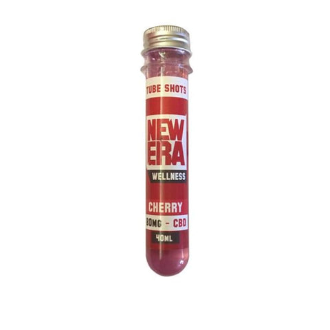 New Era Wellness 80mg CBD Booster Shot 40ml - Cherry - CBD