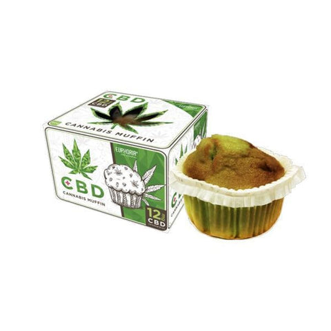 Euphoria 12MG CBD Cannabis Muffin - CBD Products