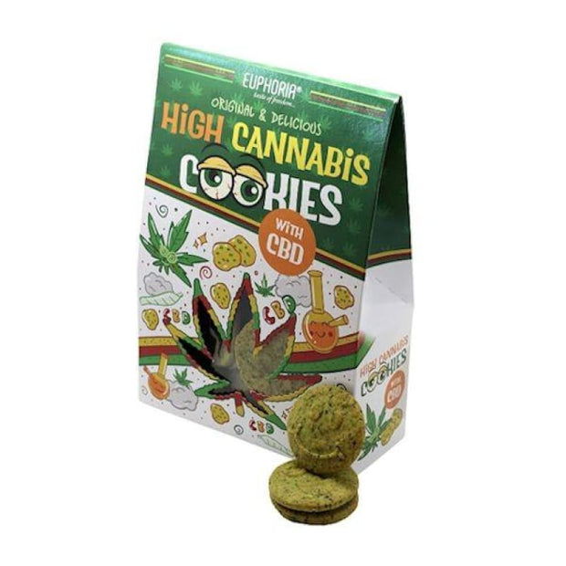 Euphoria High Cannabis Cookies with CBD - CBD Products