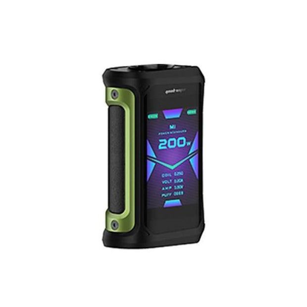 Geekvape Aegis X 200W Mod - Green Black - Vaping Products