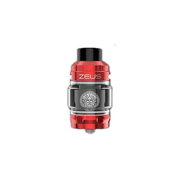 Geekvape Zeus Sub Ohm Tank - Red - Vaping Products