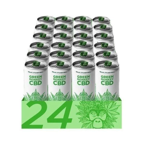 Green Monkey Carbonated 250ml CBD Drink - CBD Products