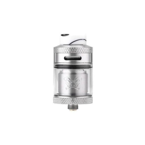 Hellvape Dead Rabbit RTA Tank - Silver - Vaping Products