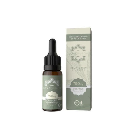 Loveburgh 750mg MCT CBD Oil 10ml - CBD Products