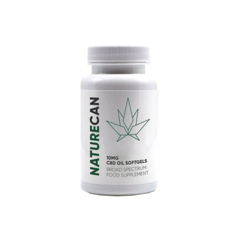 Naturecan 300mg CBD Softgel Capsules - CBD Products