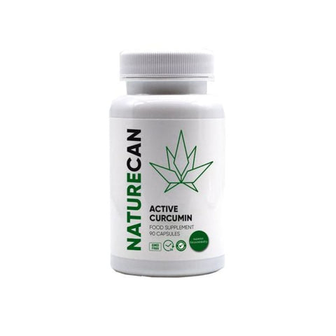 Naturecan Active Curcumin 90 Capsules - CBD Products