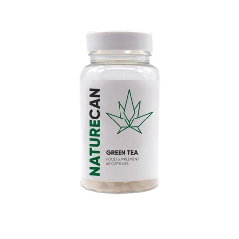 Naturecan Green Tea Extract 60 Capsules - CBD Products