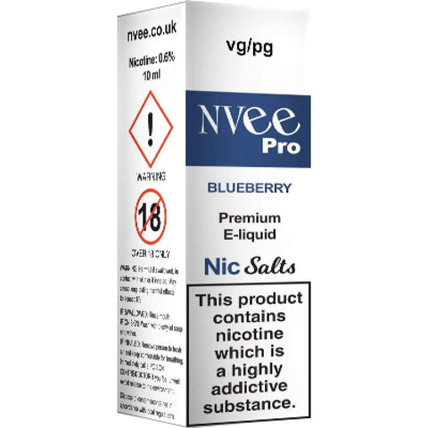 Nvee - Blueberry 10ml Salts