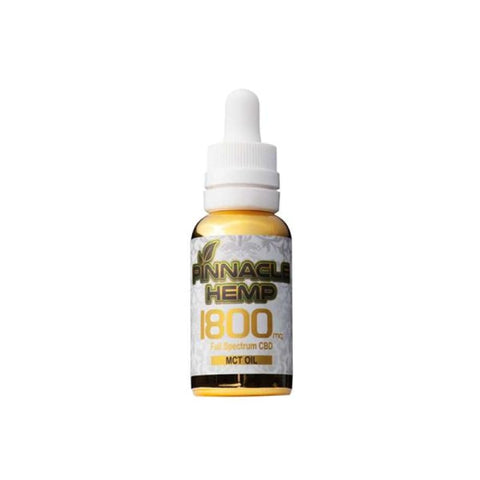 Pinnacle Hemp Full Spectrum MCT Oil 1800mg CBD - CBD