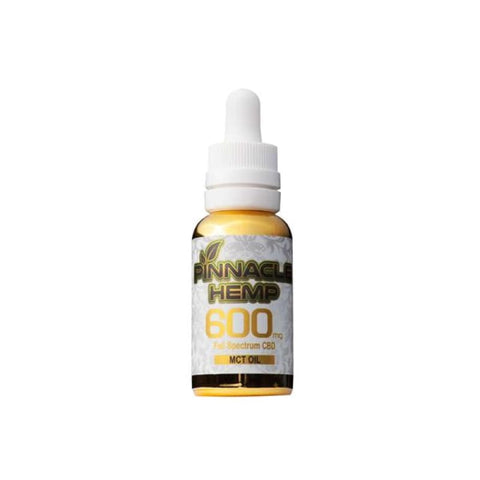 Pinnacle Hemp Full Spectrum MCT Oil 600mg CBD - CBD Products
