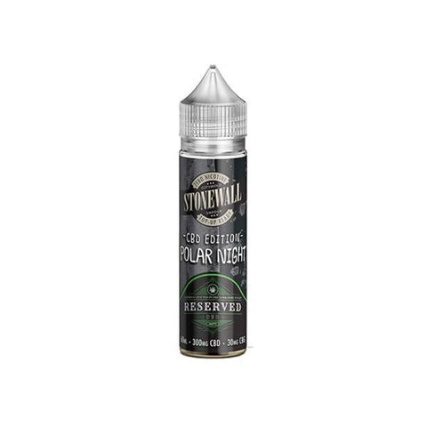 Reserved CBD (300mg CBD: 30mg CBG) 60ml E-Liquid - Polar