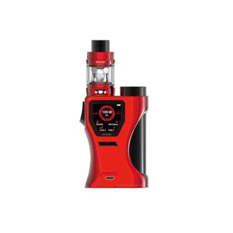 Smok S-Barrel 100W Kit - Red Black - Vaping Products