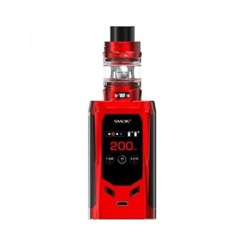 SMOK R-Kiss 200W Kit - Red - Vaping Products