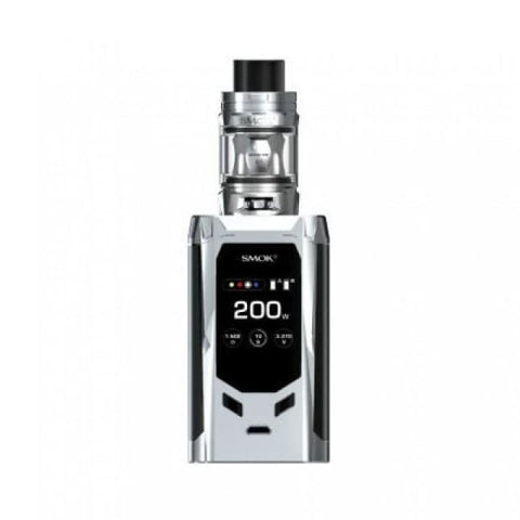 SMOK R-Kiss 200W Kit - Silver - Vaping Products