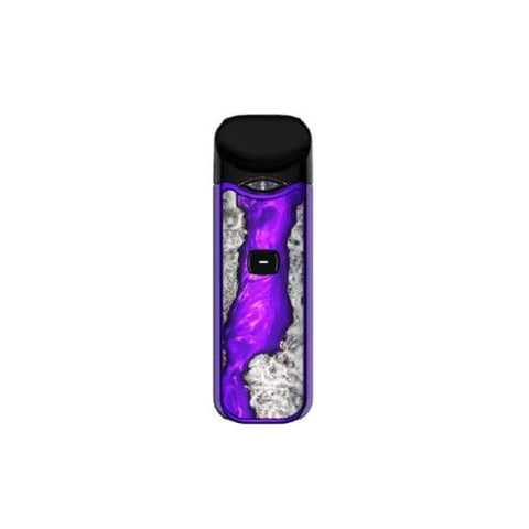 Smok Nord Kit - Wood Effect Edition - Purple Stabilizing