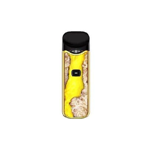 Smok Nord Kit - Wood Effect Edition - Yellow Stabilizing