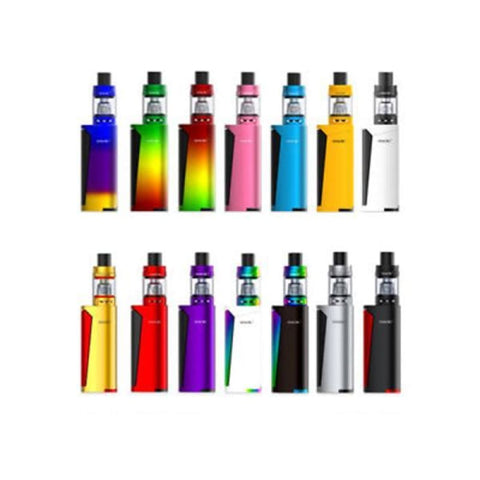 Smok Priv V8 Kit - White & Black - Vaping Products