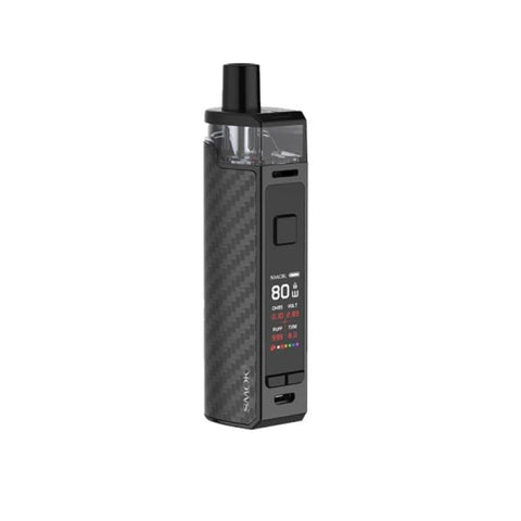 Smok RPM80 Pod Kit - Black Carbon Fiber - Vaping Products