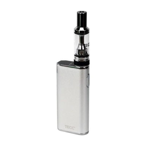 TECC arc Slim E-cig Kit - Silver
