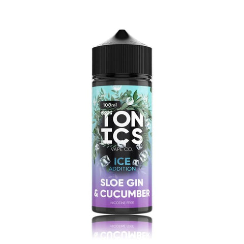 Tonics ICE Addition 100ml - Sloe Gin & Cucumber - Coming