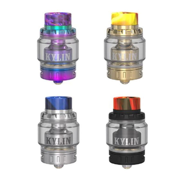 Vandy Vape Kylin Mini RTA Tank - Stainless Steel - Vaping