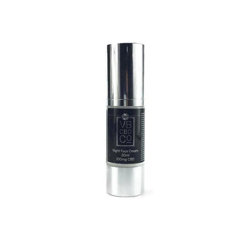 VB CBD CO 30ml 100mg Night Face Cream - CBD Products