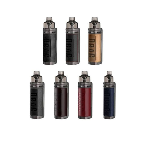 Voopoo Drag S Mod Pod Kit - Carbon Fiber - Vaping Products