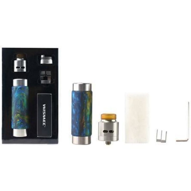 Wismec RX Machina Mod - Swirled Metallic Resin
