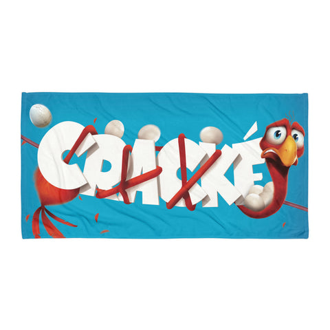 Cracké Beach Towel