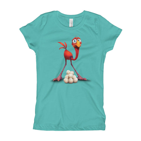 Cracké Kids Girls' Slim-fit T-shirt