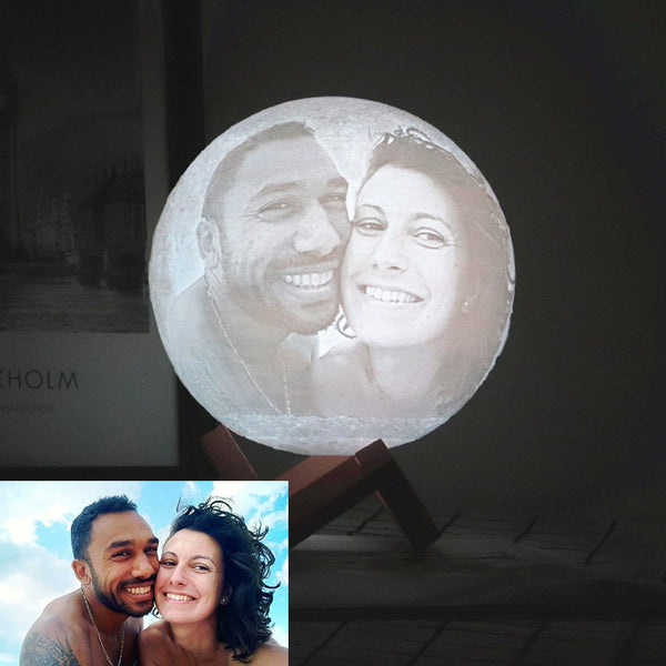 Personalized Touch Moon Light