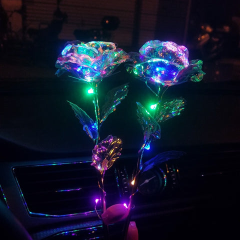 Romantic LED Galaxy Rose